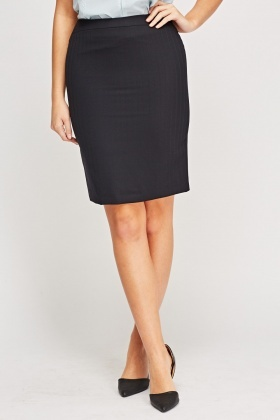 Formal Navy Formal Skirt