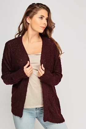 Bobble Knit Cardigan