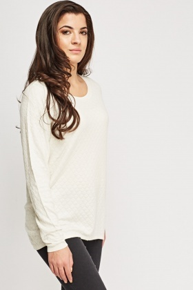 Honeycomb Thin Knitted Sweater