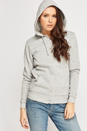 Zip Up Hooded Jumper