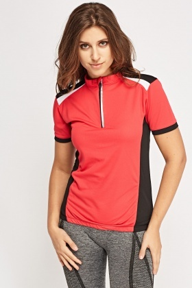 Colour Block Sports T-Shirt