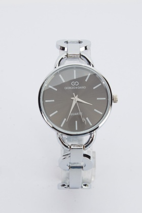 Cut Out Metal Watch