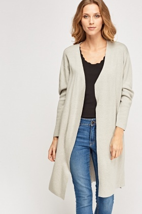 Thin Knit Long Cardigan