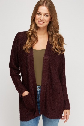 Bobble Knitted Cardigan