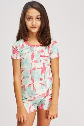 Juicy Couture Eggshell Toucan Pyjama Set