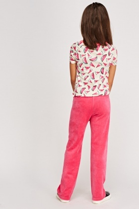 Juicy Couture Summer Rain Boho Juicy Logo Pants
