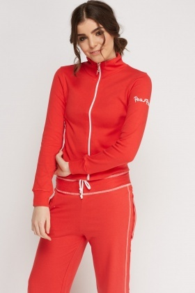Zip Up Front Jumper