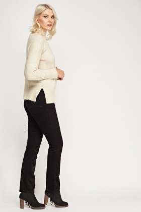 Straight Leg Cord Trousers