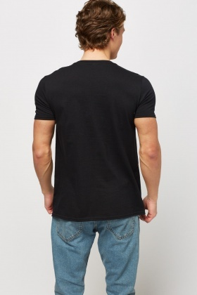 NYC Print Black T-Shirt