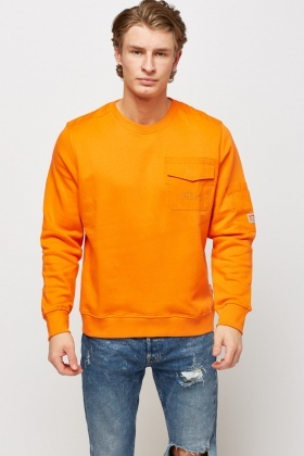 Pocket Front Basic Jumper