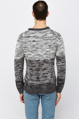 Ombre Speckled Jumper