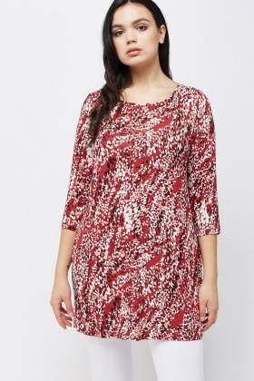 Printed Casual Tunic