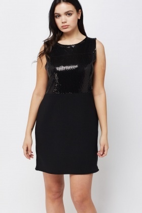 Sequin Embellished Dress