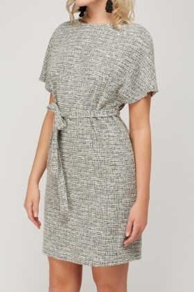 Tie Up Woven Dress
