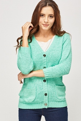 Button Up Knitted Jumper