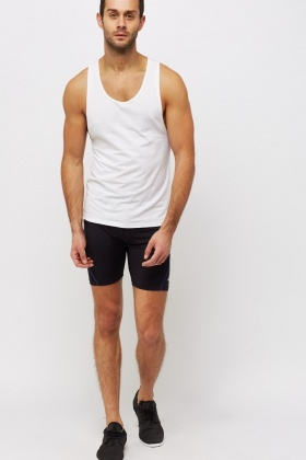 Contrast Sport Shorts