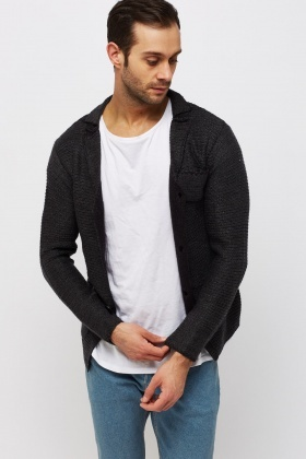 Multi Pocket Front Knitted Cardigan