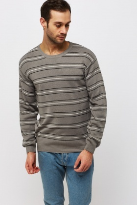 Striped Basic Sweater