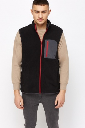 Fleece Contrast Bodywarmer