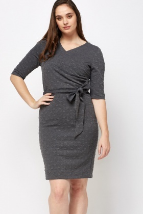Heart Embossed Dress