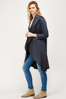 Waterfall Long Line Duster
