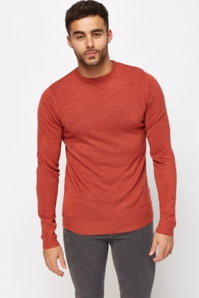 Thin Knit Casual Sweater