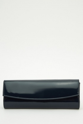 PVC Long Clutch Bag