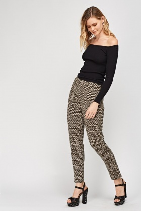 Zig Zag Light Weight Trousers