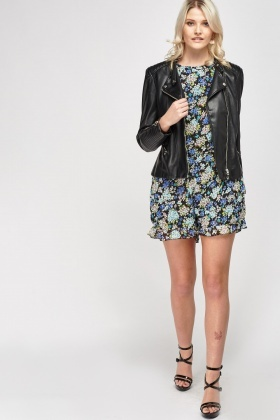 Sheer Floral Playsuit