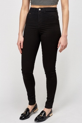 special promotion authentic elegant appearance High Waist Black Jeggings