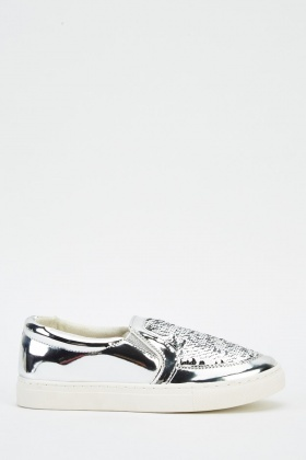 Sequin Holographic Shoes