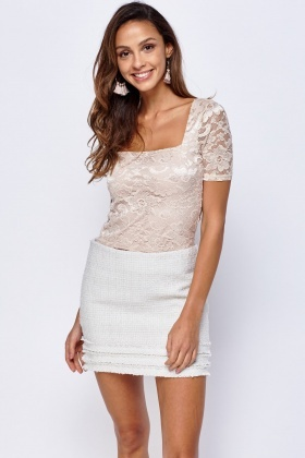 Lace Box Top