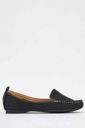 Contrast Stitched Shoes