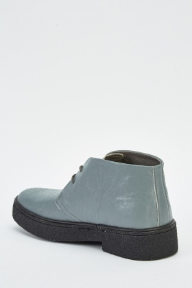 Textured High Top Mens Shoes