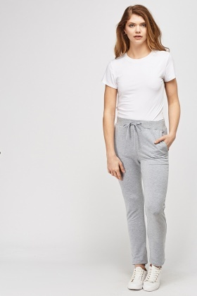 Slim Leg Sweat Pants