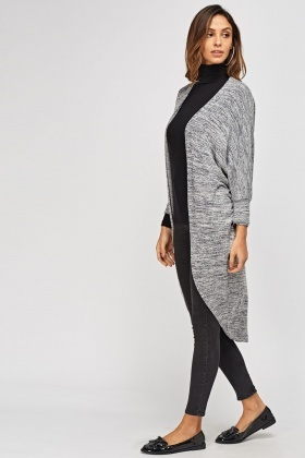 Speckled Long Cardigan