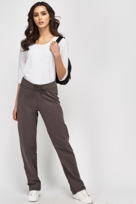 Straight Leg Casual Jogger Pants
