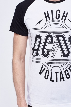 ACDC Lighting Print T-Shirt