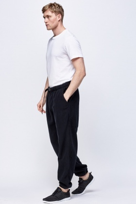 Fleeced Casual Jogger Pants