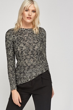 Sequin Speckled Jumper