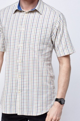 Checked Mens Shirt