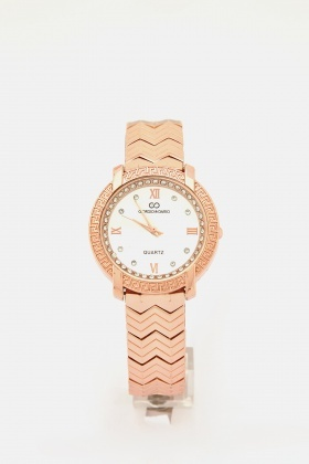 Diamante Face Watch