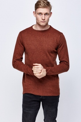 Knitted Thin Pullover