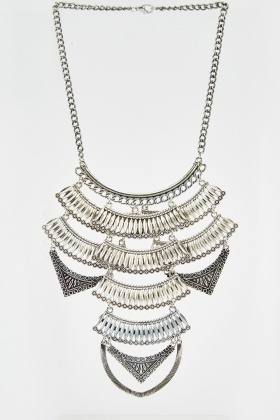 Layered Detailed Necklace