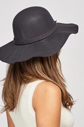 Bow Trim Floppy Felt Hat - Just £5 8b31cc48b948