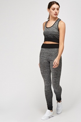 Tank Top And Leggings Sports Set