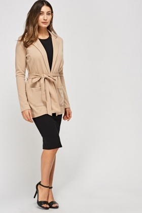 Tie Up Casual Jacket