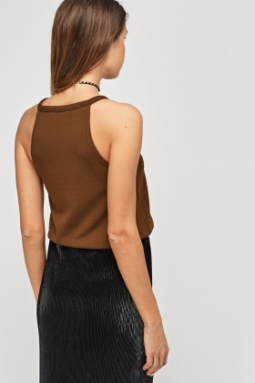 Textured Scallop Trim Top
