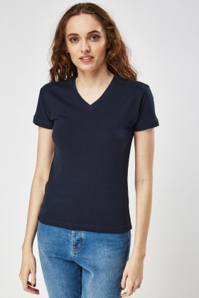 Pack Of 3 V-Neck T-Shirt