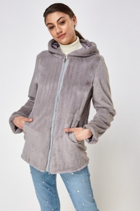Teddy Bear Hooded Jacket